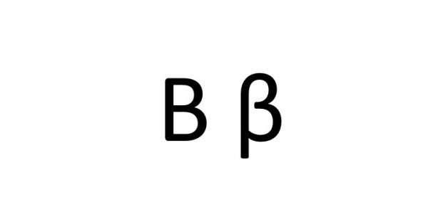 Letra beta for Como se escribe beta